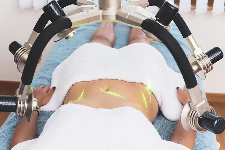 Low level laser therapy for skin