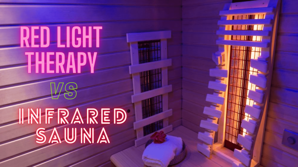 red-light-therapy vs infrared Sauna