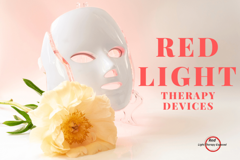 Red light therapy devices